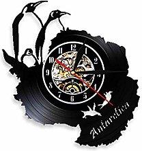 XYLLYT Penguin vinyl record wall clock birthday