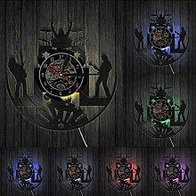 XYLLYT Rock music band wall clock rock music wall