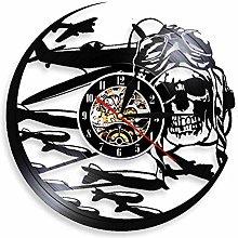 XYLLYT Skeleton Aviator Wall Clock Aviator Sugar