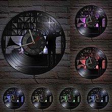 XYLLYT Vinyl lover wall clock made of real vinyl