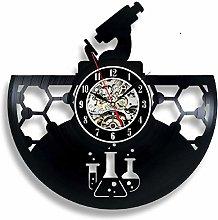 XYLLYT Vinyl Record Wall Clock Chemistry