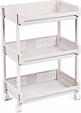 XYSQ Kitchen Cart, Storage Cart, Rolling Cart,
