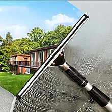 XYYZX Telescopic Window Cleaner with Squeegees,