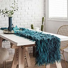 XYZDY Rectangular Table Runner Polyester Fabric