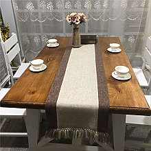 XYZDY Table Runner Elegant Style Natural