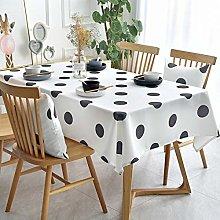 XYZG Tablecloth Tablecloths Cotton Linen Washable