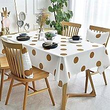 XYZG Tablecloths Tablecloth Cotton Linen Washable