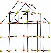 Xzbling 158pcs Build Your Own Den Kit - Childrens