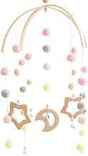 Xzbling Baby Bed Rattles, Nordic Ins Stytle Hair