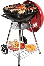 XZQ Freestanding Charcoal BBQ Grill Portable