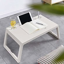 XZQZB Lazy Laptop Table with Drawer Cup Holder Pen