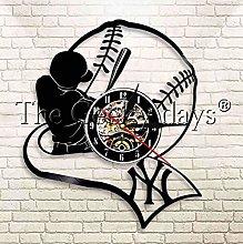 XZXMINGY Vinyl Clock Christmas American Baseball