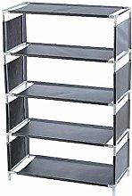 Y DWAYNE Stand-up Simple Multi-layer Metal Shoe
