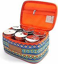 Y-H 6pcs Stainless Steel Seasoning Spice Jars with