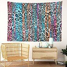 Y·JIANG Animal Tapestry, Rainbow Stripe Animal