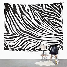 Y·JIANG Animal Tapestry, Zebra Print Home Dorm