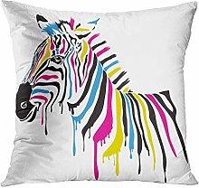 Y·JIANG Animal Throw Pillow Cushion Cover, Print