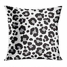 Y·JIANG Animal Throw Pillow Cushion Cover, Snow