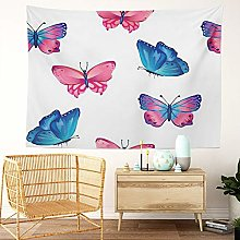 Y·JIANG Butterfly Tapestry, Bright Butterflies