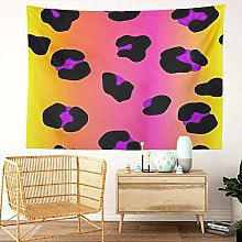 Y·JIANG Cat Tapestry, Neon Gradient Animal