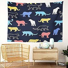 Y·JIANG Tiger Tapestry, Adventure Africa Animal