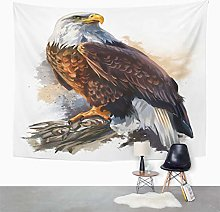 Y·JIANG Wildlife Eagle Tapestry, Bald Eagle