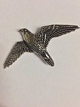 Y35 Peregrine made from Solid Fine English Pewter