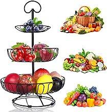 YADIMI 3-Tier Fruit Basket, Countertop Fruit