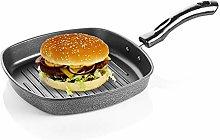 YADNESH Non-Stick Aluminium Grill Pan,Non-Stick