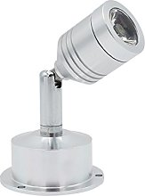 Yaeer Mini LED Wall Lamp Silvery LED Spotlight