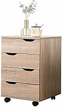 Yaermei Devon 4 Drawer Chest Irregular Design