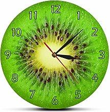 yage Wall Clock Modern Summer Fruit Kiwi Designed