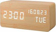 Yagoal alarm clock clock led clock desk clock