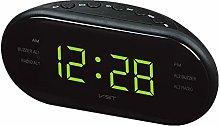 Yagoal alarm clock led digital wall clock sunrise
