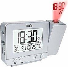 Yagoal digital clock alarm clock led projection