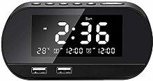 Yagoal digital clock digital alarm clock sunrise
