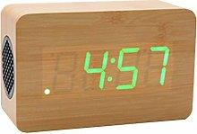 Yagoal digital wall clock alarm clock retro