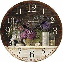 Yagoal Wall Clock Clock Wall Clocks For Bedrooms