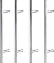 Yagosodee Bar Handle Wardrobe Door Handles 4Pcs
