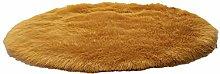 Yagosodee Imitation Wool Fluffy Carpet Round Furry