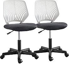 Yaheetech Armless Office Chair Cheap Computer