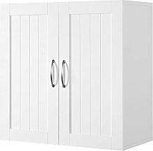 Yaheetech Bathroom Wall Cabinets/Cupboard with