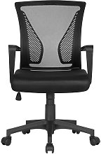 Yaheetech - Black Desk Chair Executive Computer