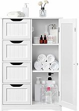Yaheetech Chest of Drawers Large Wood Bathroom