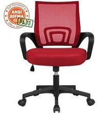 Yaheetech - Executive Desk Chair Adjustable and