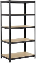 Yaheetech - Heavy Duty 5 Tier Garage Shelving
