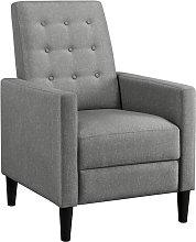 Yaheetech - Modern Fabric Recliner Chair