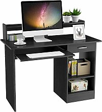 Yaheetech Office Computer Desk with Drawers
