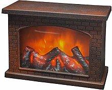 YAKii Rectangle Fireplace Lantern 6 Super Bright