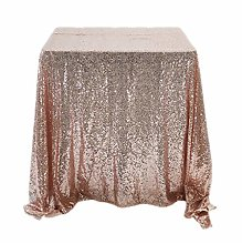 YALINA Sequin Tablecloth Family Wedding Party
